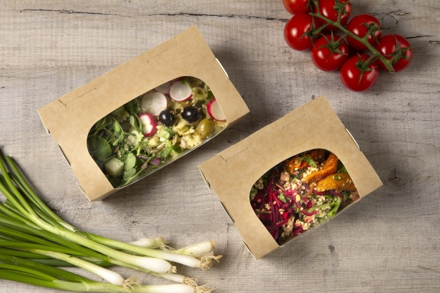 Colpac says its chilled-food-to-go range has been redesigned after extensive research and customer feedback. (Image: Colpac)