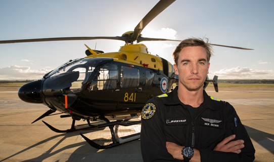 Nick Brown is one of the Boeing HATS instructors who will begin training the first aircrew students. Credit: Boeing Defence Australia