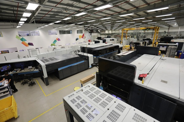 Factory expansion for press production: Landa