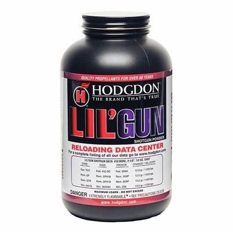 Hodgdon L'il Gun Propellent is one of the best performing powders in the .22 Hornet.
