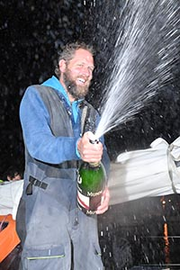 Mark-Slats---all-smiles-as-he-traditionally-sprays-champagne---Christophe-Favreau-pic