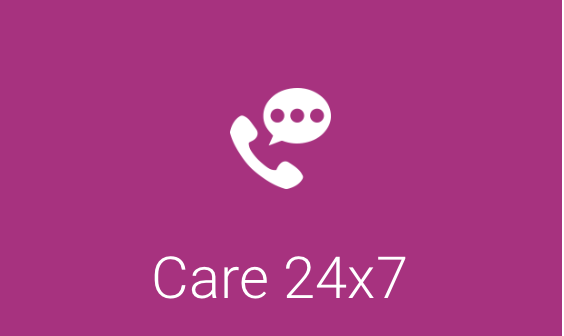 Matthews Care 24x7 offers a customer support program across three tiers with one- and three-year contract options.
