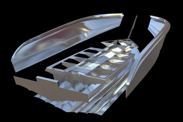 The Morningstar Boats are revolutionary because of their unique aluminium plate formed hulls.