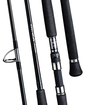 Shimano's Ocea Plugger Full Throttle rods