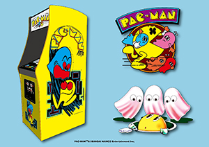 Style it with retro Pac-Man