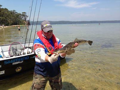 Big fish at basin flattie classic fishing world for Big fish classic