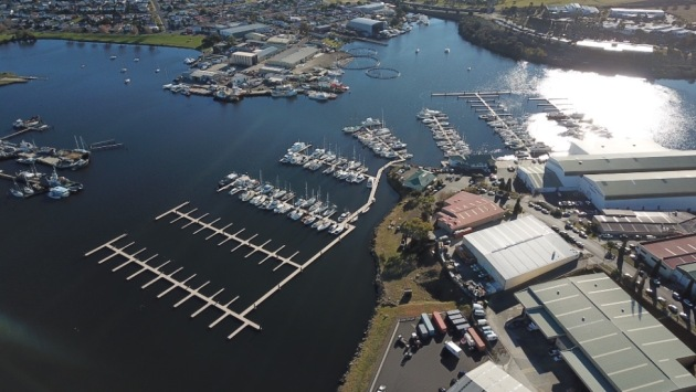 Prince of Wales Marina in Hobart.