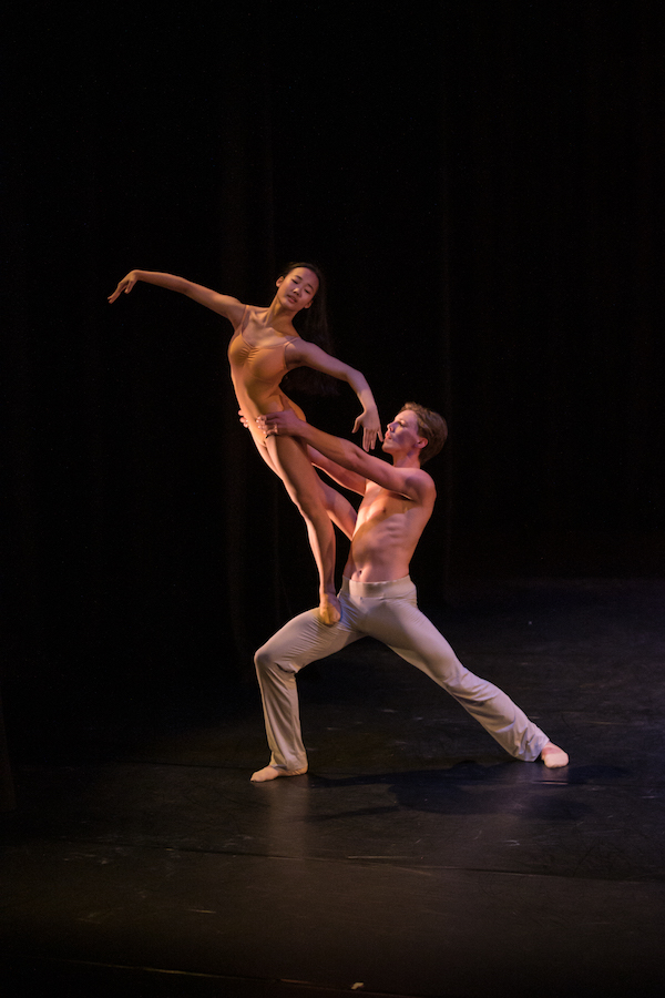 Sook Meng Lim and Isaak McLean in 'After The Rain'. Photo: Stephen A'Court.