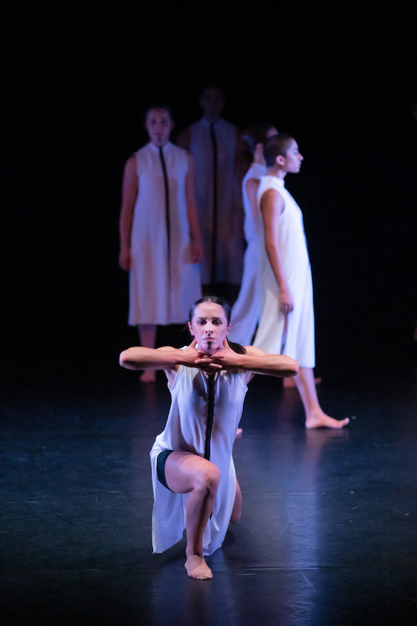 Ngaere Jenkins in 'Huri Koaro' by Gabrielle Thomas. Photo: Stephen A'Court.
