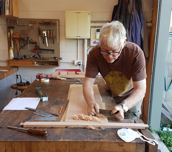 Making A Hall Table With Roy Schack Australian Wood Review
