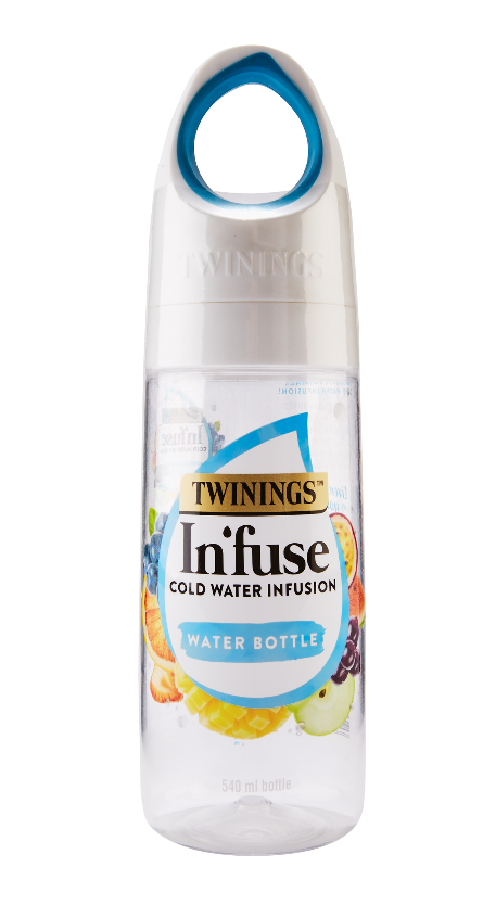Twinings In'fuse water bottle.