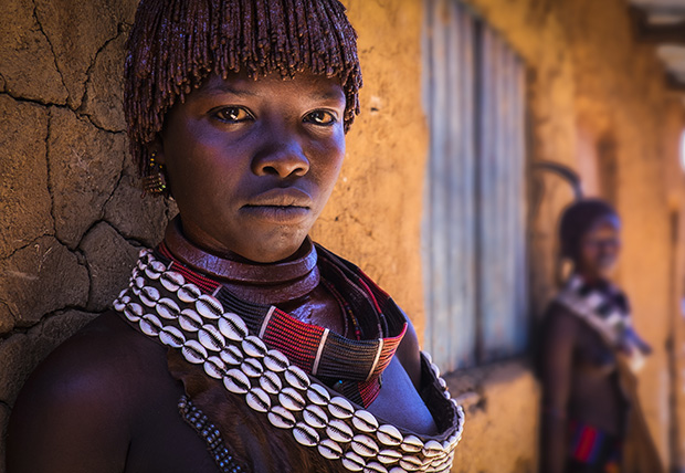 From the series 'Into the Omo Valley' by Sharon Wellings, 2014 Portrait Photographer of the Year.
