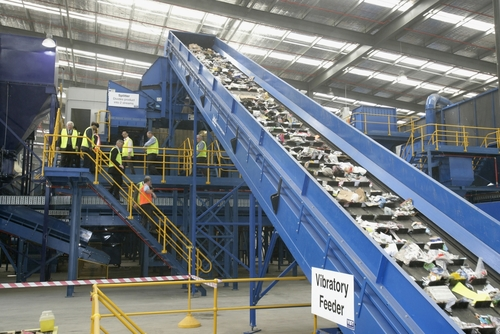 Visy recycles 1.2 million tonnes of paper and cardboard per year. (Image: Visy)