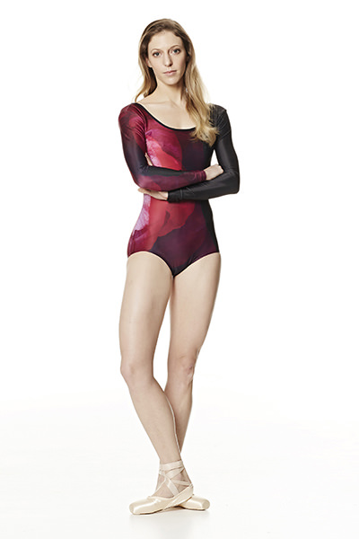 Keto long sleeve leotard
