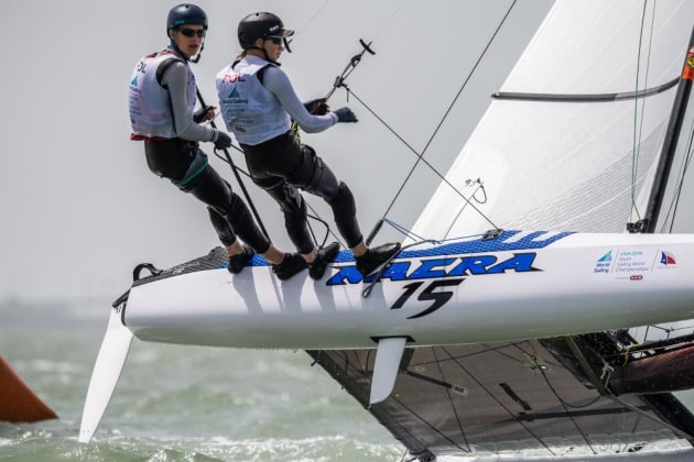 Youth Worlds Nacra 15