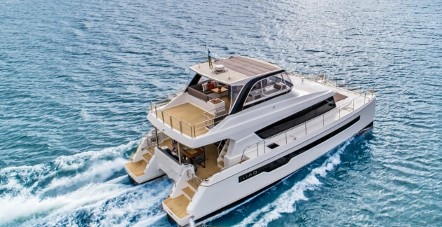 Multihull Solutions had an overwhelming response to the exclusive world launch of the ILIAD 50 at the 2019 Sanctuary Cove International Boat Show.