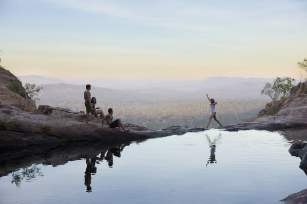 Gunlom Infinity Pools, Kakadu National Park.