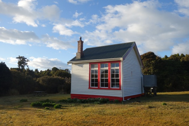 The Old Port Craig Schoolhouse – now a trampers hut.