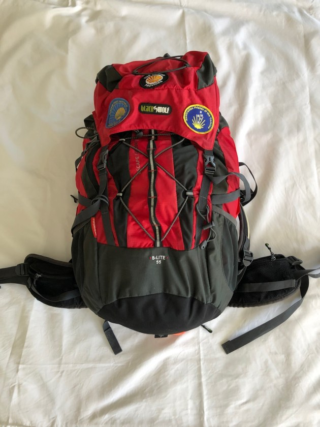 Black Wolf B-Lite 55Lt pack