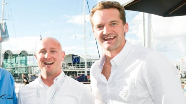 The principals of event firm Mayo and Calder, Grant Calder and Tom Mayo. Photo Stuff.co.nz