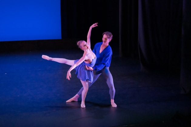 Riley-Jane Dickie and Jordan Lennon in Helgi Tomasson's 'Handel-A Celebration - Excerpts'. Photo: Stephen A'Court.