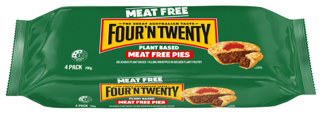 Even Patties Food's iconic Four 'n Twenty pie is not immune to the plant-based trend.