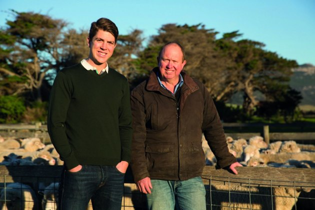 Father and son, David and James Madden, founded carbon neutral meat supplier Flinders & Co.