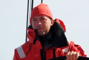 Rob Greenhalgh in a previous participation in the Volvo Ocean Race. Photo Rick Deppe/Puma.