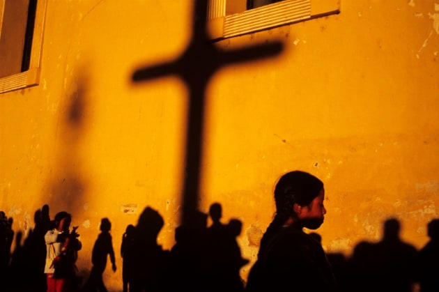 Outside the cathedral of San Cristobal de Las Casas, Chiapas, Mexico. © Andrew Quilty.