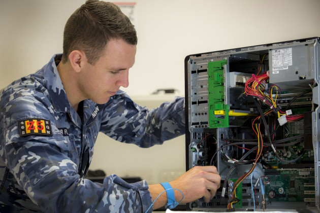 The report found that Defence IT systems often require 'complex workarounds'. Credit: Defence