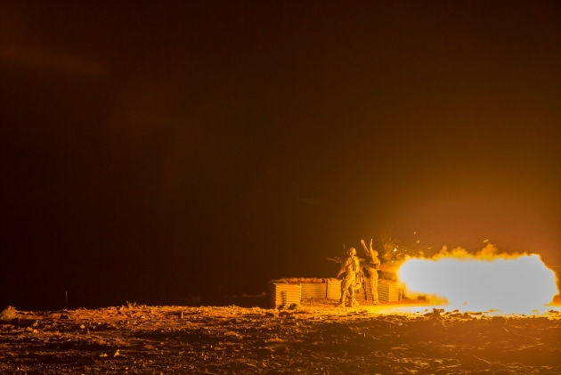 16th Air Land Regiment personnel launch a live Bolide missile from the RBS-70. Defence