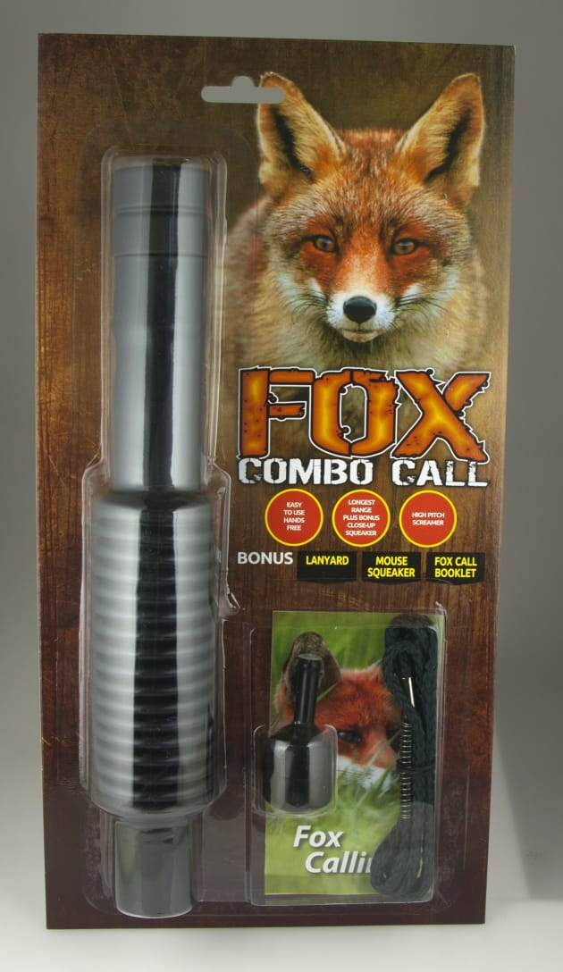 Shaker Fox Call Clam Pack
