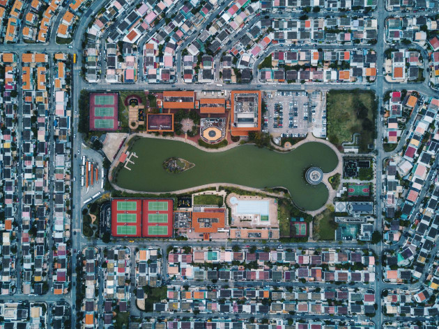 Our world from above, is beautifully symmetrical, whether it be the highways we drive on, the neighborhoods we live in, the high rises we build or the parks we play in. Shot with a drone through my latest travels to Guangzhou, London, Macau and Hong Kong, aerial photography has taken photography to new heights, allowing me to see world through a whole new perspective. Copyright: © Varun Thota, India, Shortlist, Professional, Landscape (Professional competition), 2018 Sony World Photography Awards