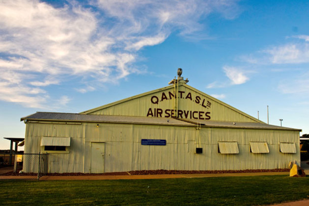 Crammed with history and incredible memorabilia, the heritage listed original Qantas hangar is part of the Qantas Founders Museum. (Shelley Ross)