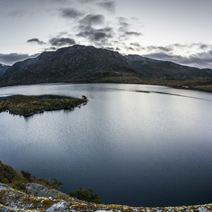 Cradle Mountain and Dove Lake, Tasmania. Photo by Michael Snedic.