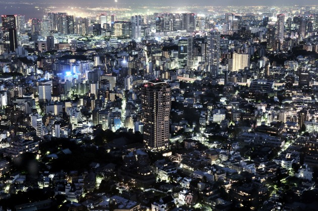 Tokyo Cityscape, from The Perfect Guide. © Michael Corridore.