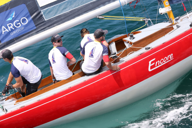 Australian skipper Harry Price and crew are hoping for the opportunity to follow-up on their third-place finish at the 2019 Bermuda Gold Cup. (Charles Anderson photo).