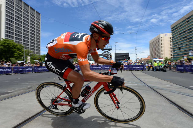 The signs were strong early in the season with Richie Porte blitzing the field to win the 2017 Tour Down Under. Image: Sirotti.