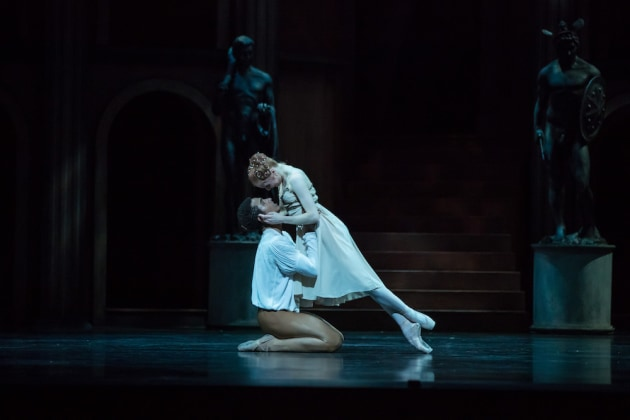 Mia Heathcote and Patricio Reve in Kenneth MacMillan's 'Romeo and Juliet'. Photo: David Kelly.
