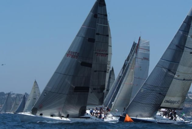 The Transpac race has multiple start days - photo Doug Gifford/Ultimate Sailing.