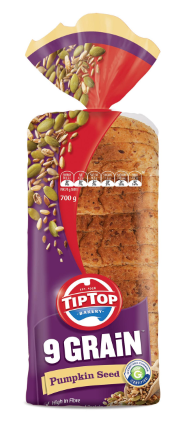 Tip Top revamps sliced bread packaging - Packaging News