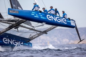 Engie at the GC32 in Marseilles. Photo Sander van der Borch.
