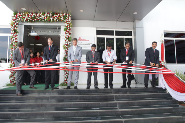 The opening of the Avery Dennison Innovation and Knowledge Center.