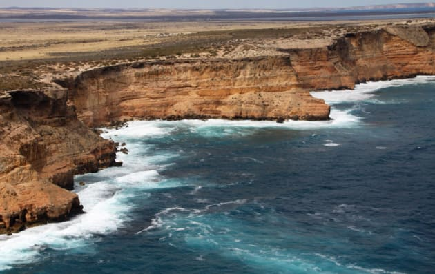 "The Great Australian Bight coastline: so much ""Wow"" factor. (Shelley Ross)"