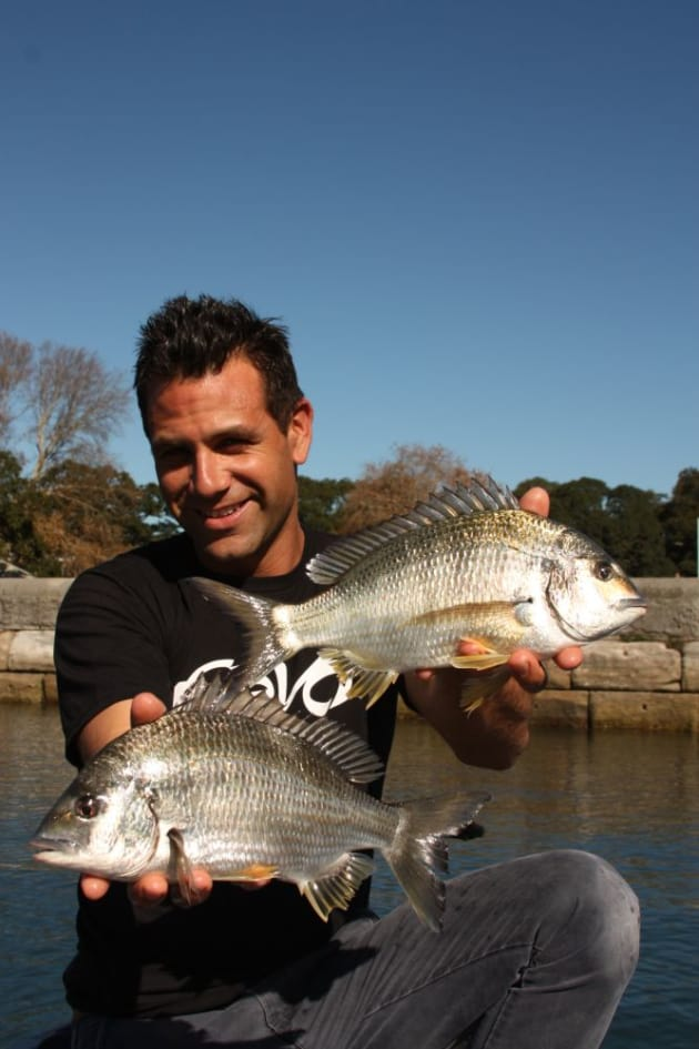Focus on getting the basics right and you too will be getting double hookups on big bream.