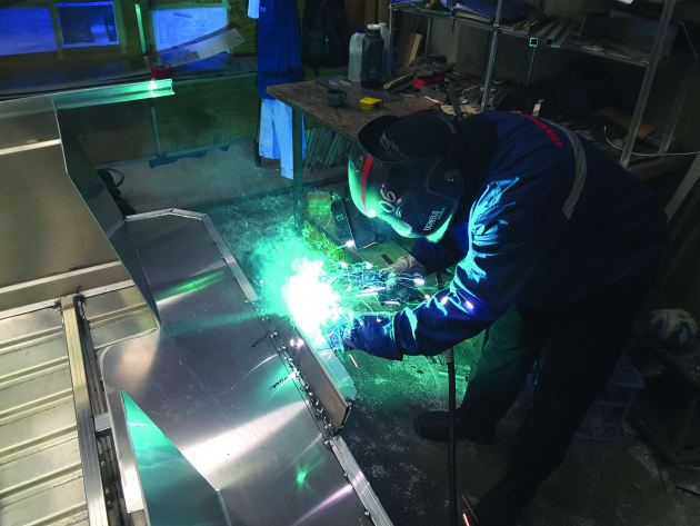 Brooker is proud of the fact that it still builds all its aluminium boats in Sydney including all welding, fitting out and spray painting being done in-house.