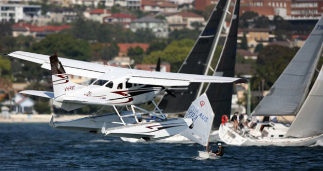 Sydney's Rose Bay is not an environment for the inexperienced seaplane pilot. (Murray Wood)