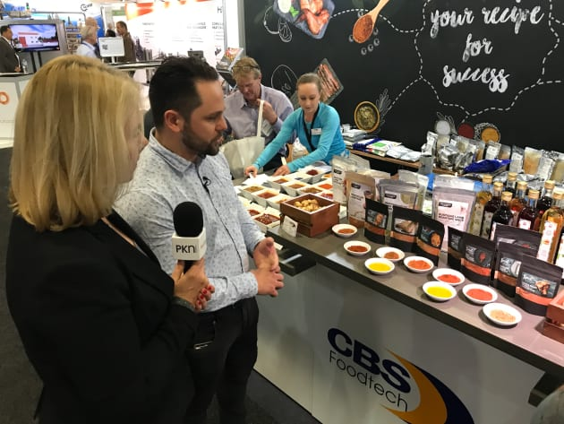 Bojan Grdanovic talks about the CBS foodtech range at Foodpro 2017