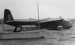 The Qantas Empire Flying Boat Circe before it disappeared en-route to Java in 1942. (Qantas Heritage Collection)