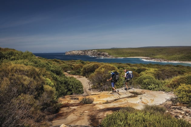 Coastal Track, Royal National Park. Photo: D Finnegan/OEH